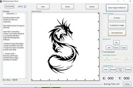 Using Laser Carver Software