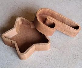 假日主题木碗
