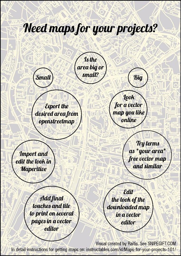 Omg Yiss, I Need Maps, Show Me How!