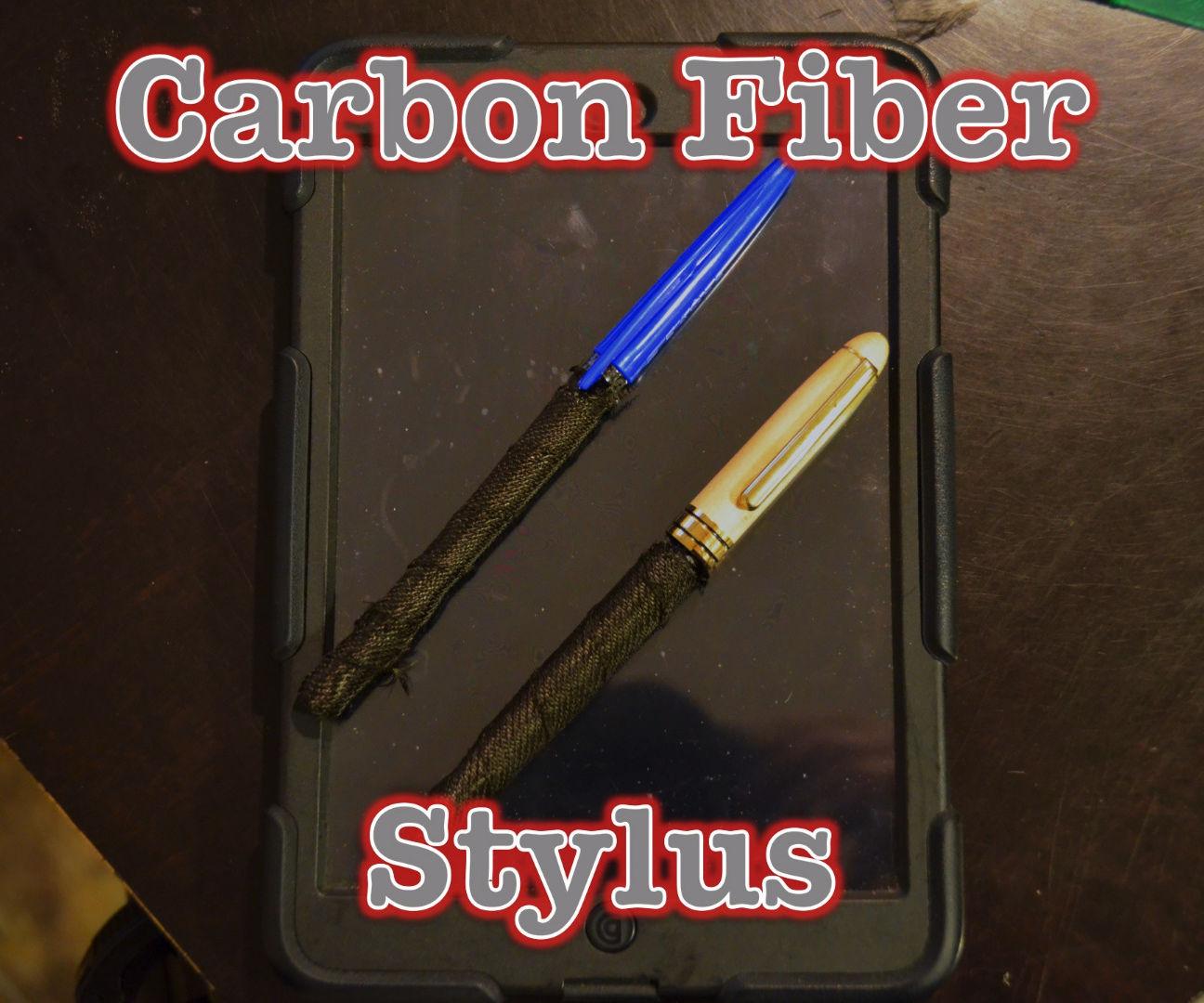 Carbon Fibre Stylus