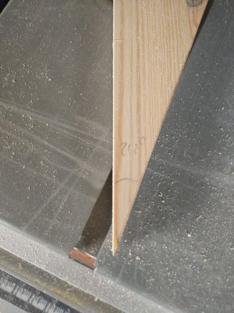 Cut the Planks for the Short Side Walls