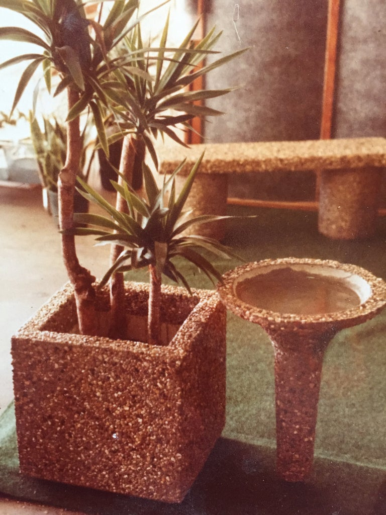 DIY Stonyface Concrete Furniture