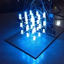 Arduino LED Cube with Android remote