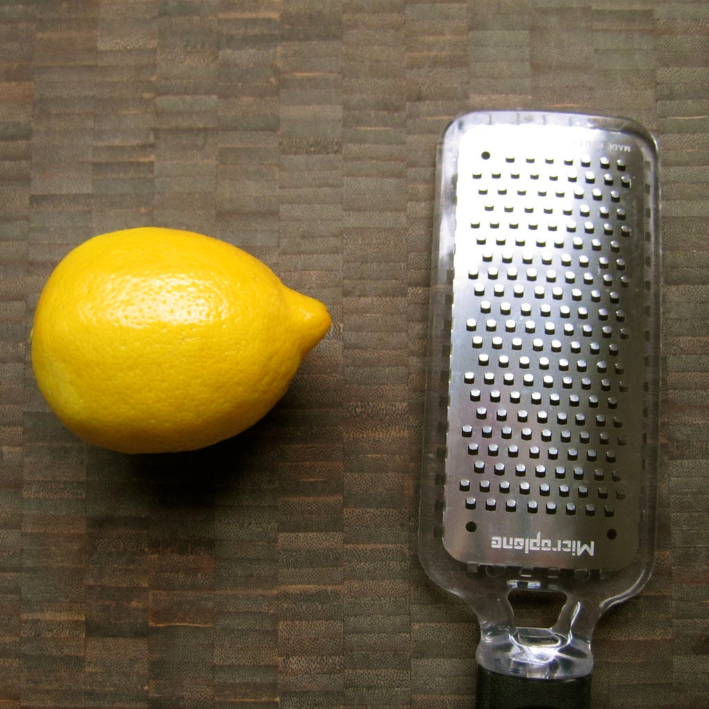 Microplane or Grater