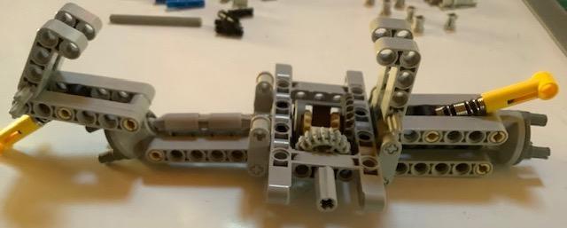 Building the Lego Car: Rear Section