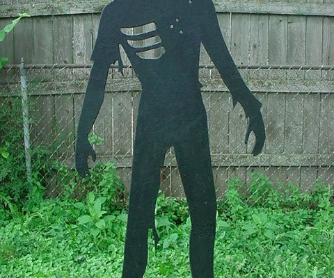 Yard Zombies for Halloween or Paintball