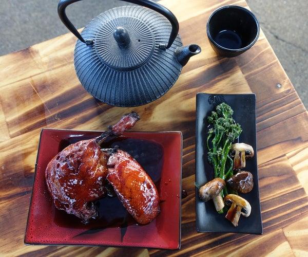 中国五香烧烤鸭
