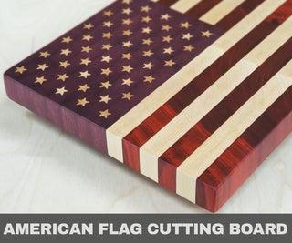 American Flag Cutting Board