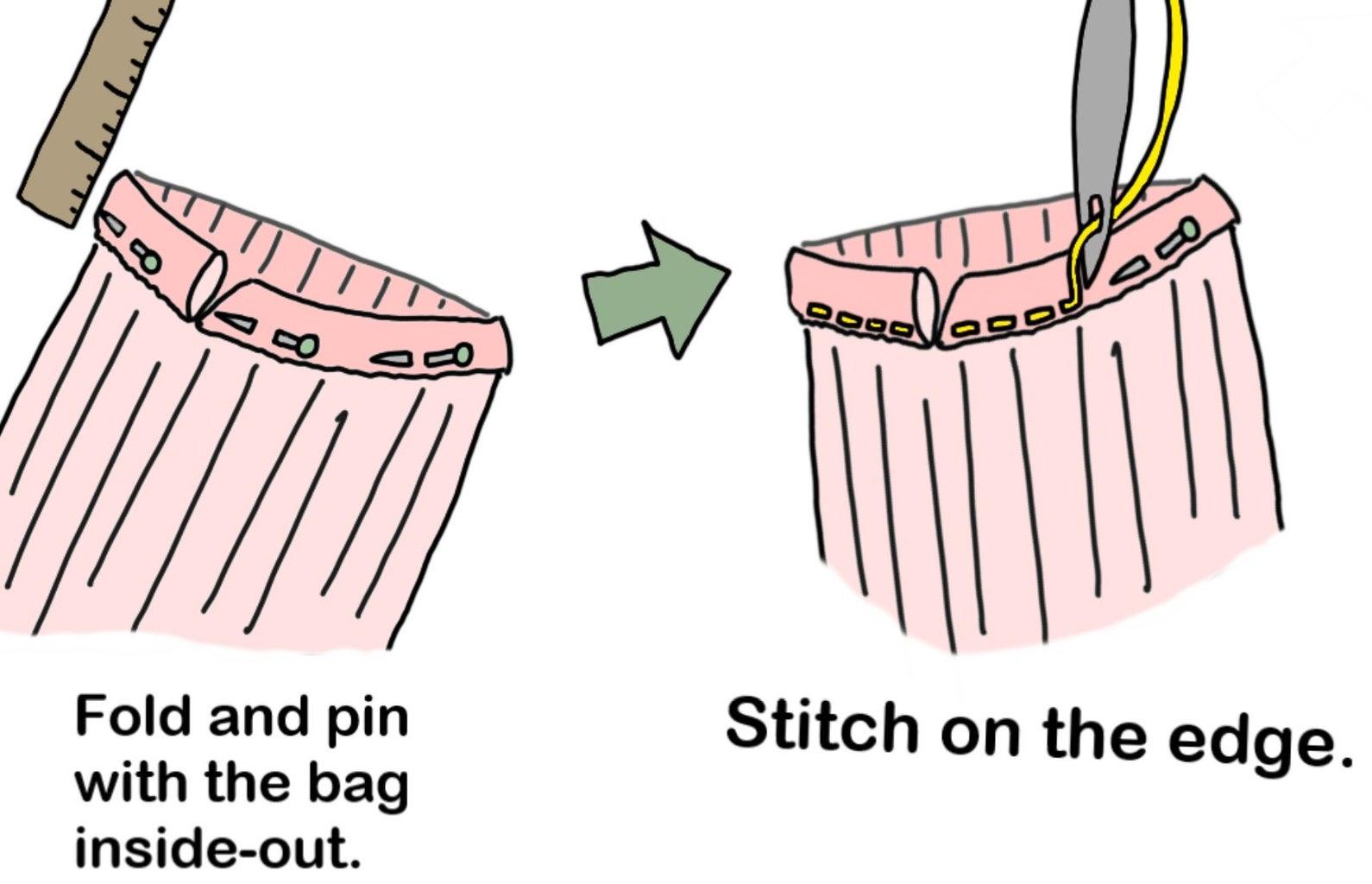 Drawstring Fold