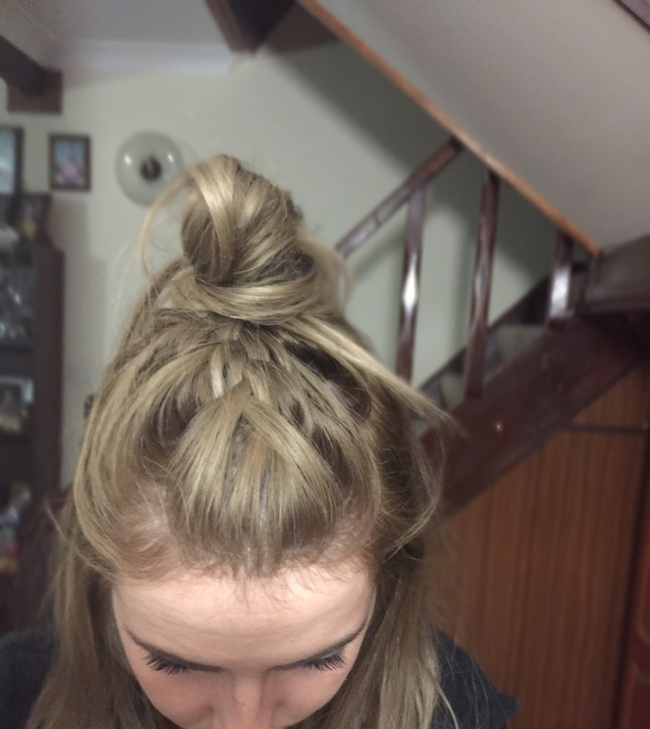How To: Braided Top Knot