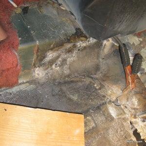 Car Rust Repair - 1981 VW Rabbit Floor Pan