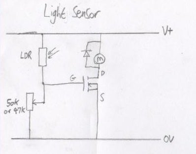 Sensor Circuits With a MOSFET