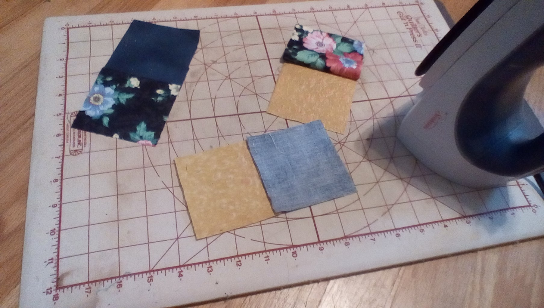 Pressings and More Sewing