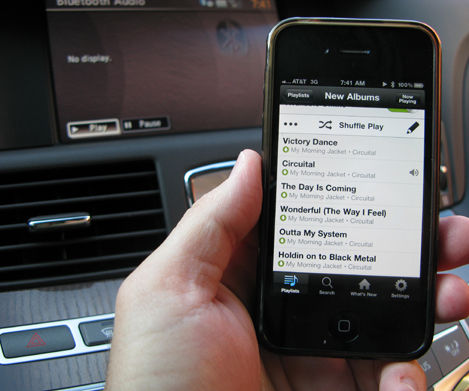 Add bluetooth to your car stereo