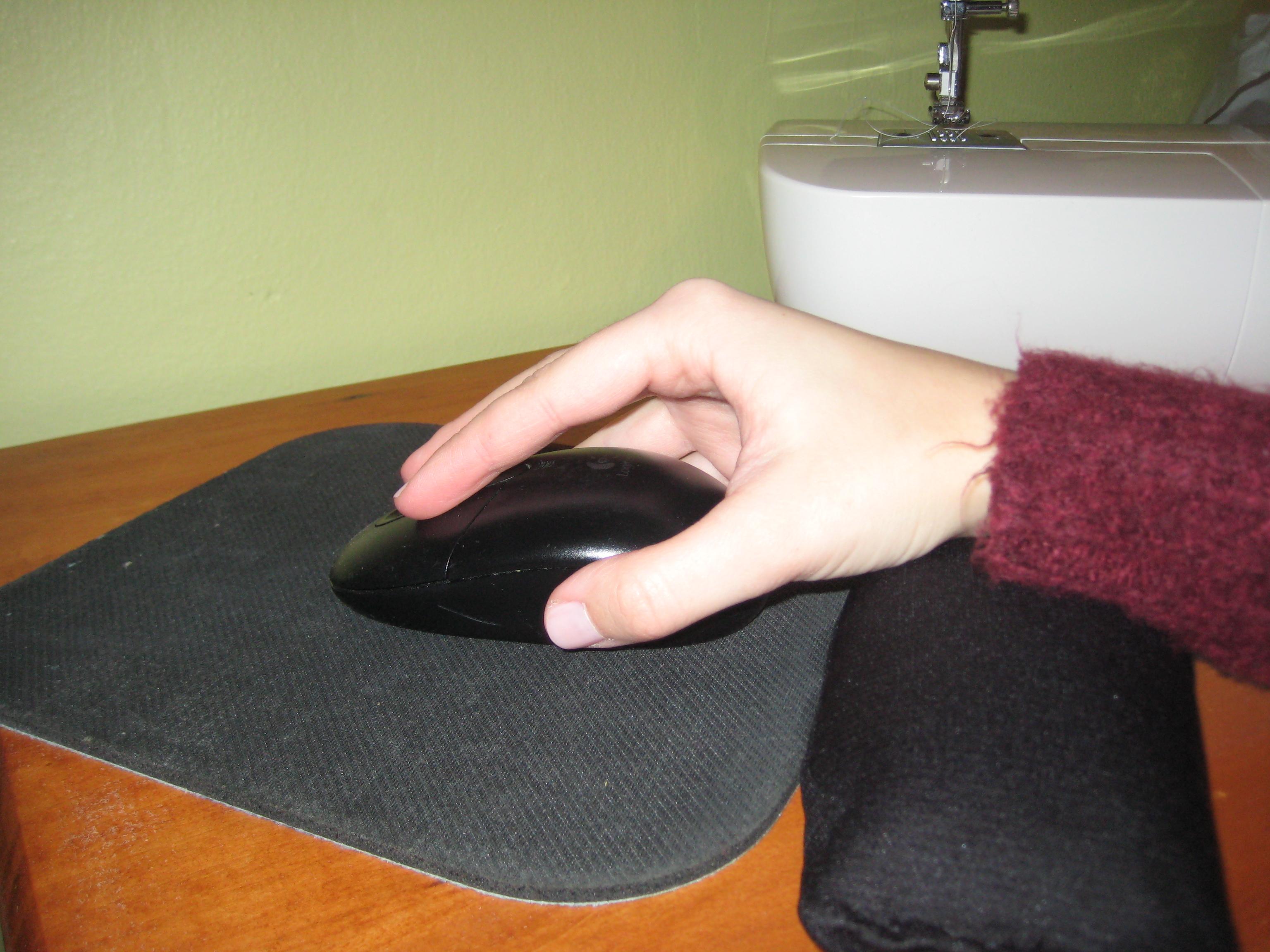 Mouse Pad Wrist-Rest