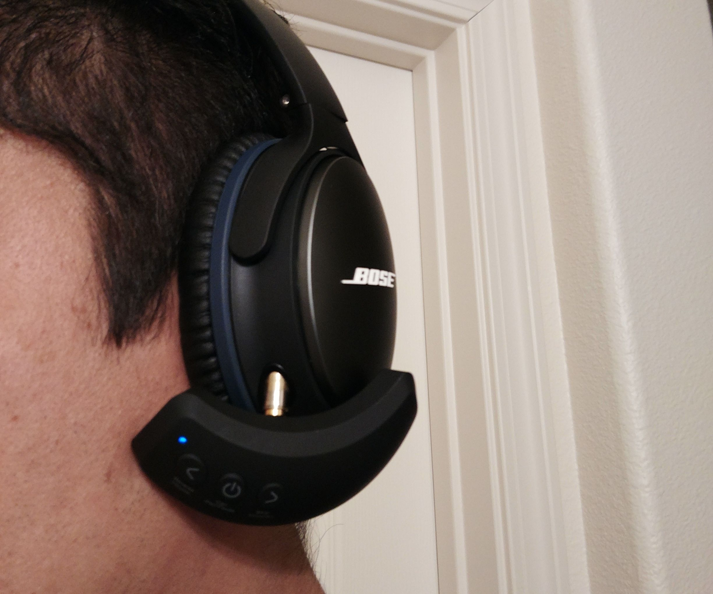 Convert Bose QC25 to Wireless Including Microphone for Less Than 15 Dollars!
