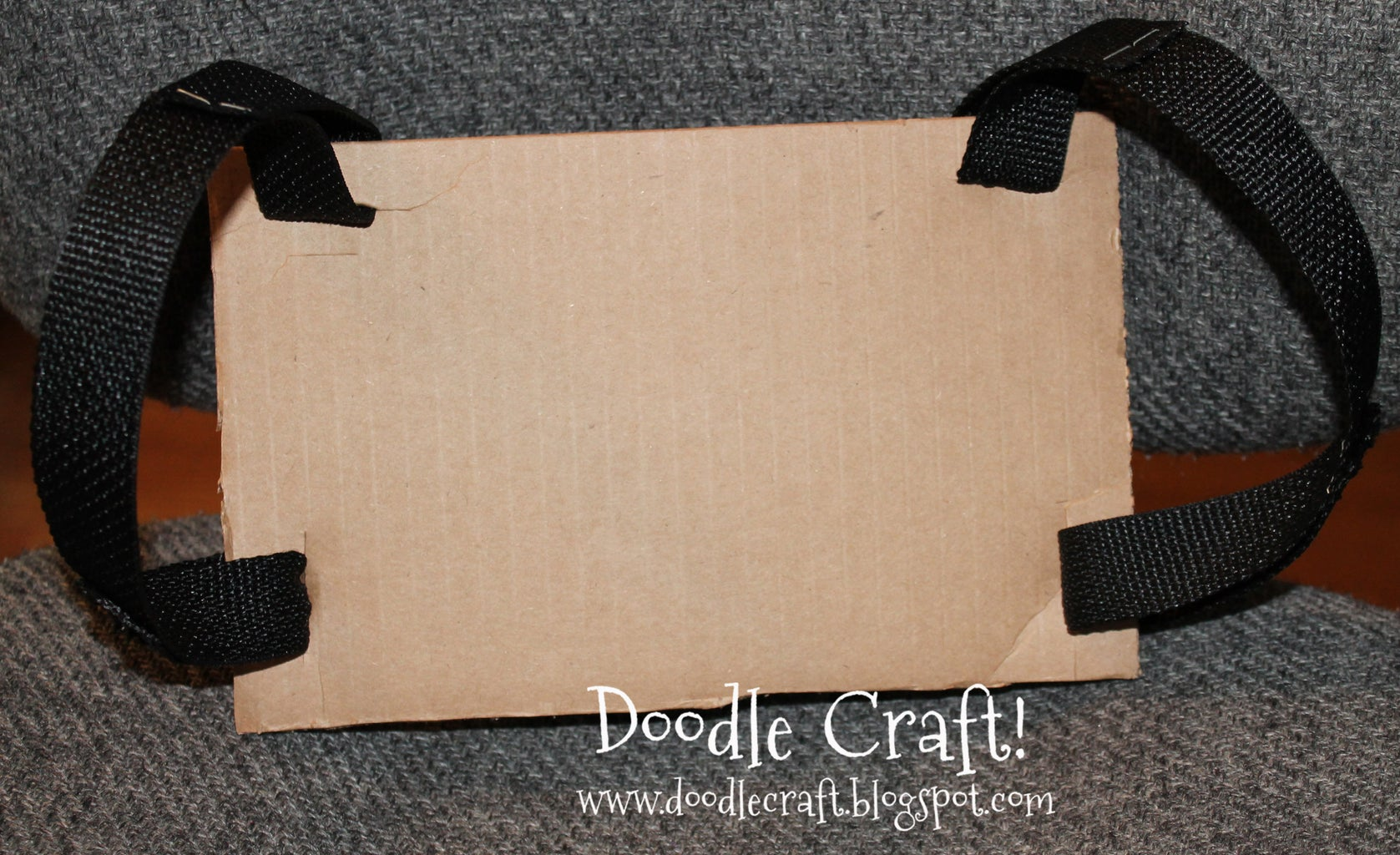 Create the Backpack From Cardboard and Webbing!