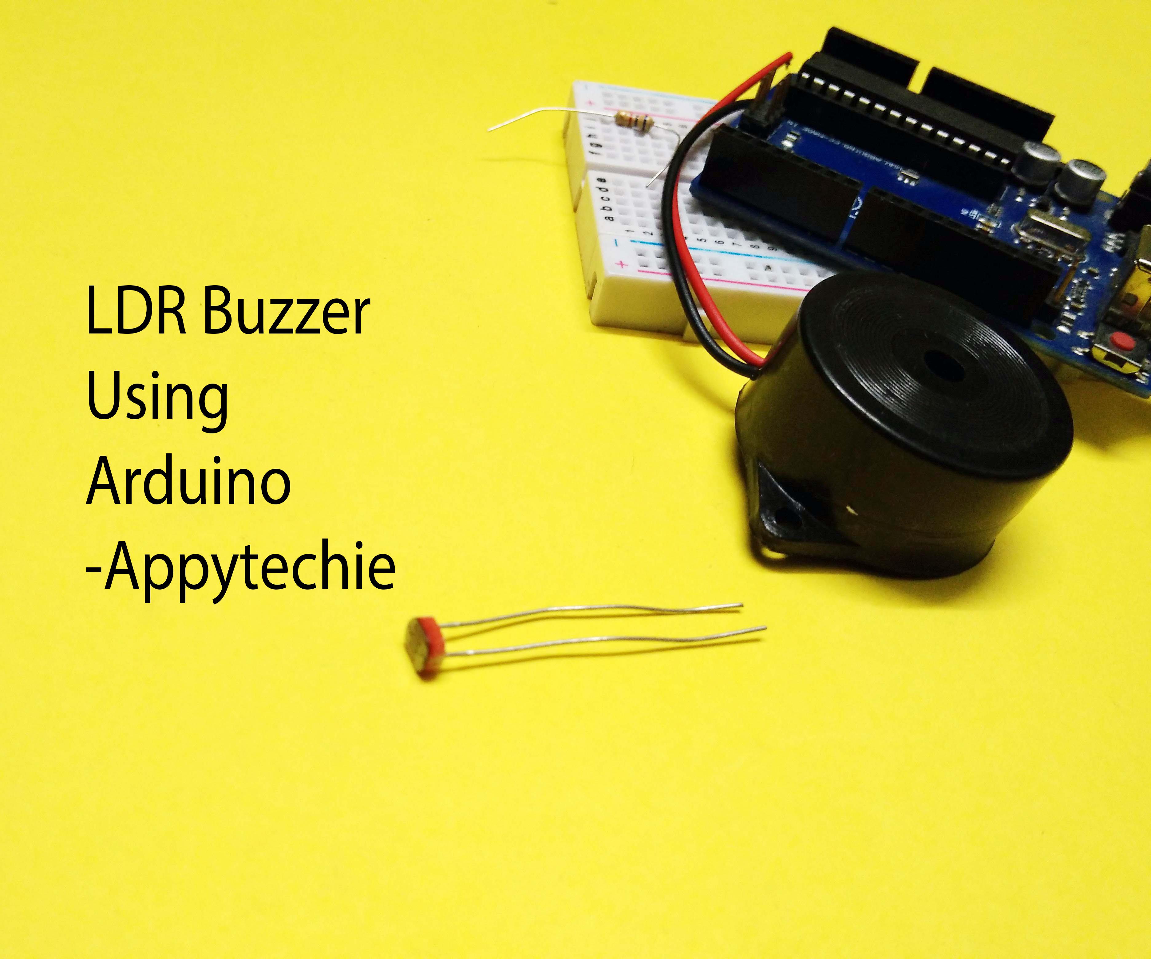 LDR Buzzer Using Arduino
