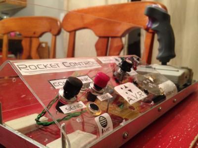Dad-Built Rocket Control Module