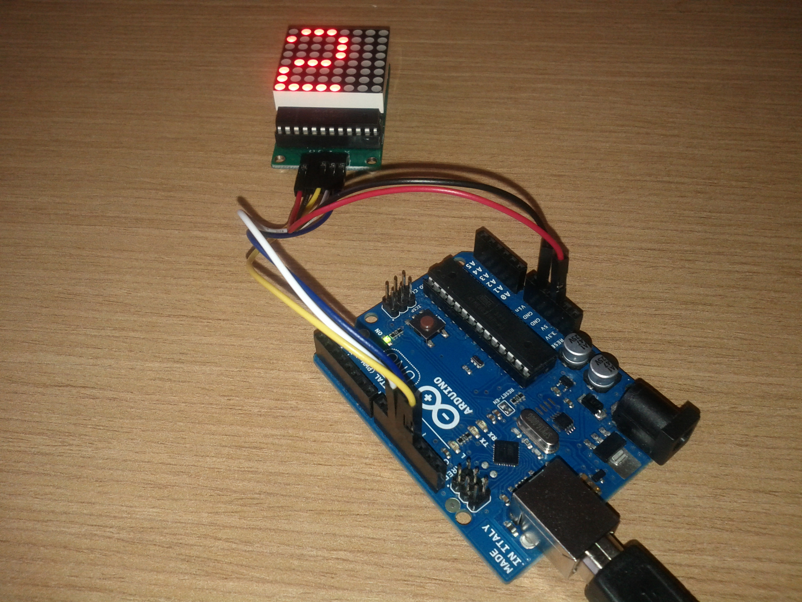 LED Matrix with Arduino