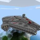 Minecraft - the Millennium Falcon