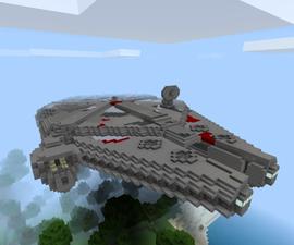 Minecraft - the Millennium Falcon