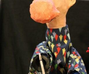 Simple Glove Puppet Head