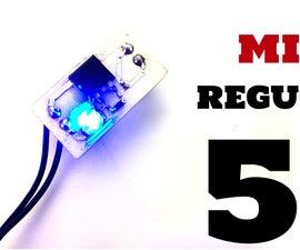BUILD a SMD 7805 PCB REGULATOR