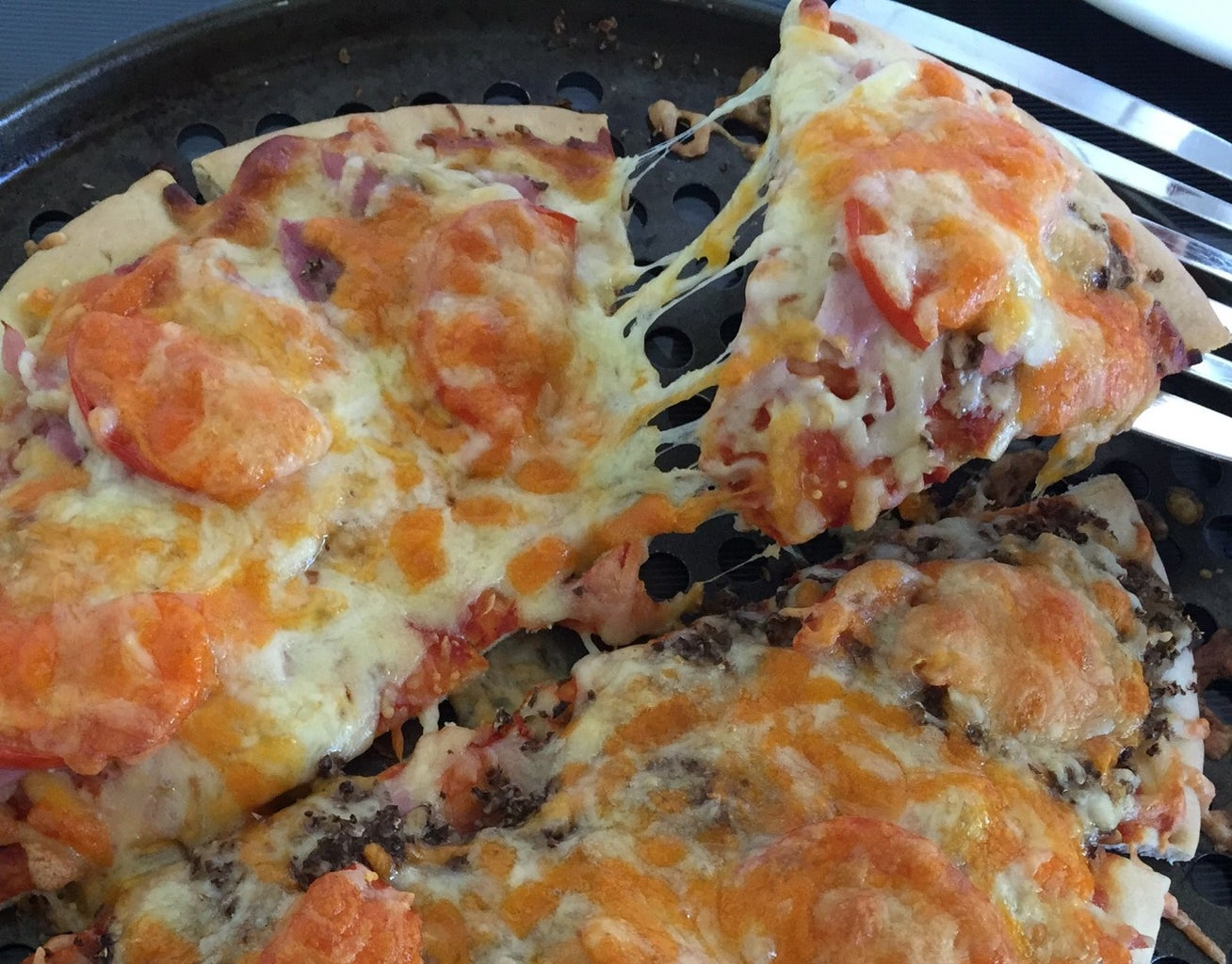 Your Layered Custom Pizza Is Pimped and Ready to Eat