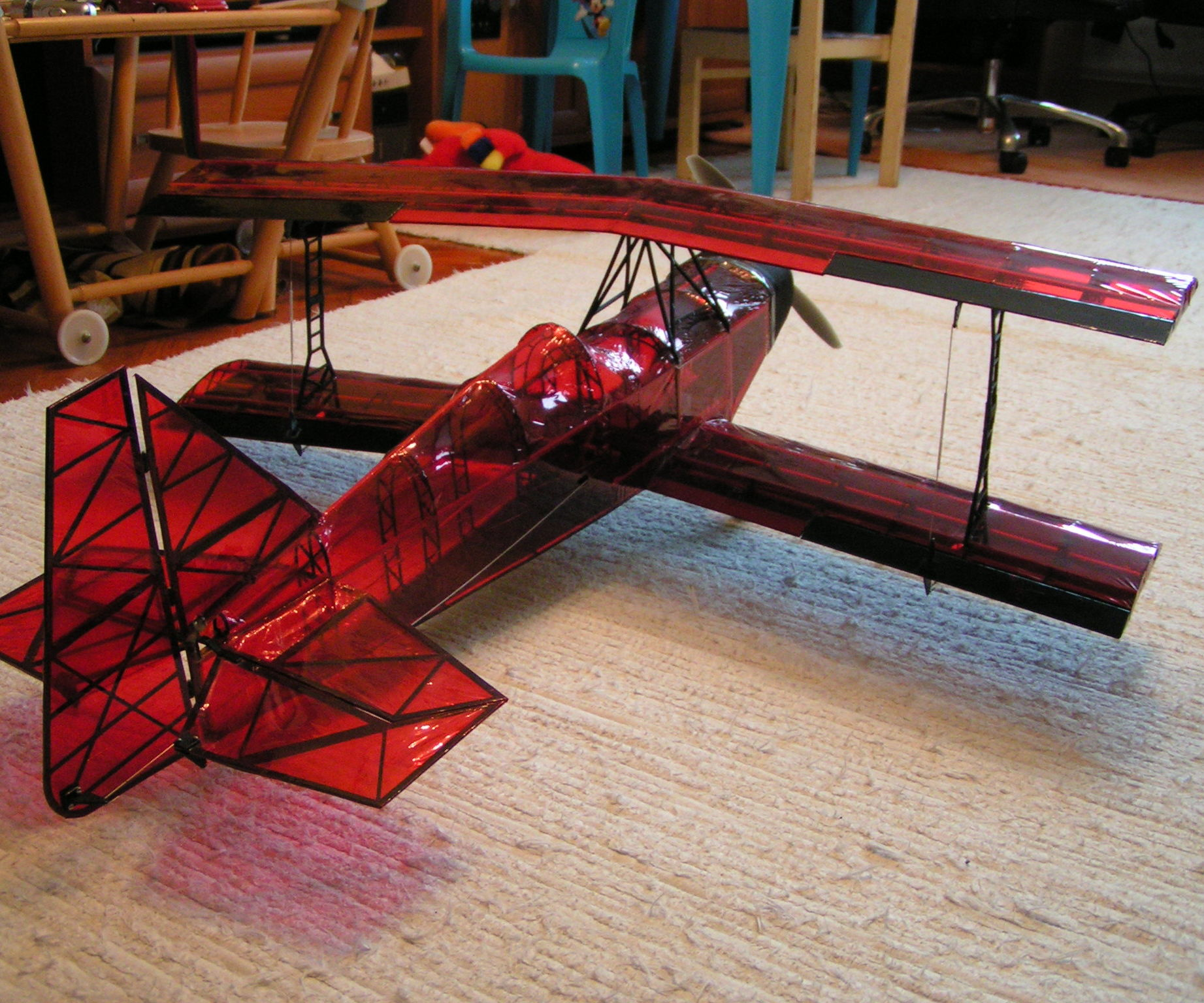3D printed ultimate biplane 10-300S
