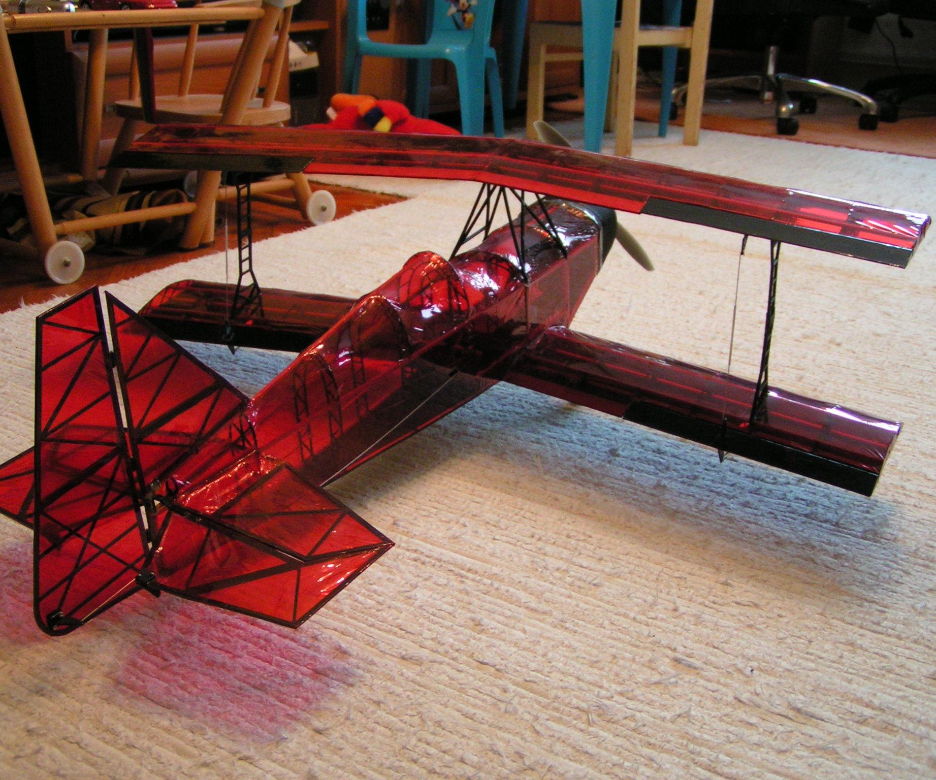 3D printed ultimate biplane 10-300S