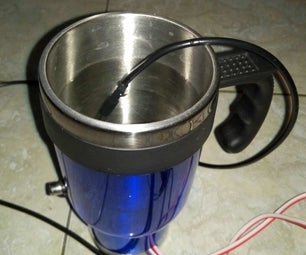 DIY Bluetooth Water Warmer Powered by Arduino