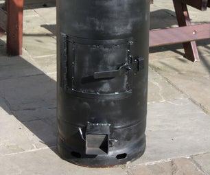 Gas Bottle Wood Burner