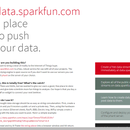 Using the Arachnio with data.sparkfun.com