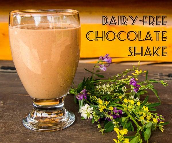 Easy Rich Chocolate Shake (dairy Free!)