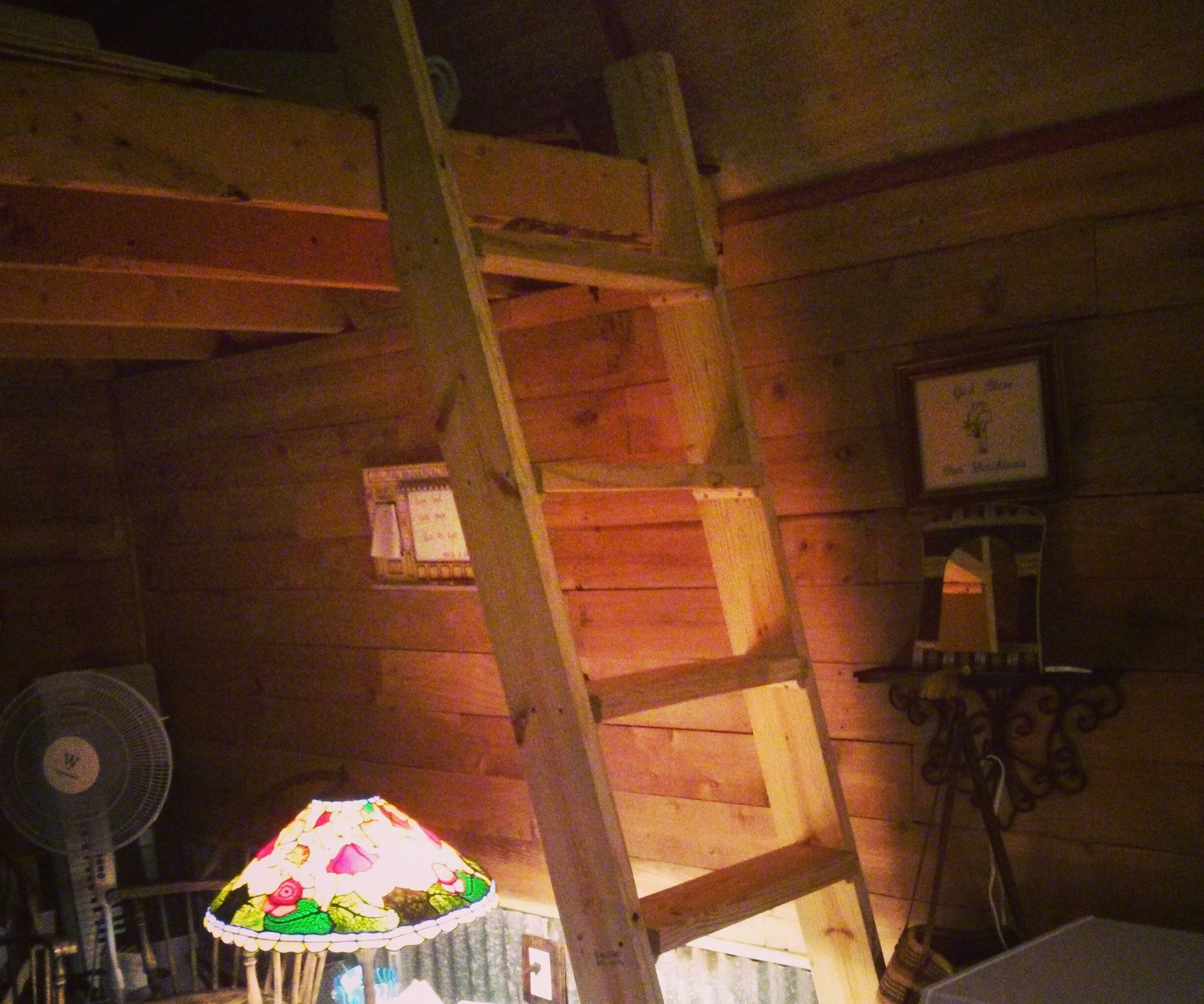 Simple Tiny House Loft Ladder 6 Steps Instructables