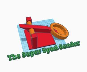 TinkerCAD - the Super Spud Sender