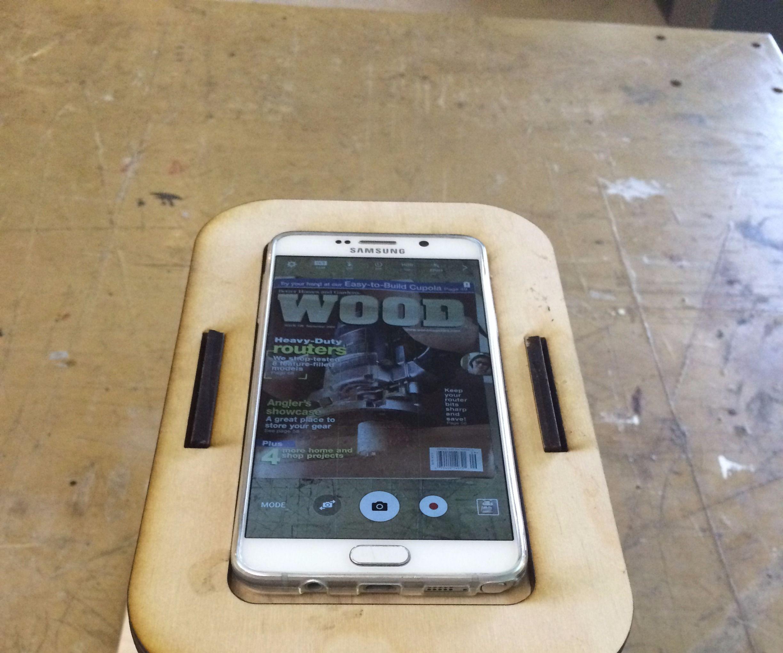 Portable Copier using Smartphone (Made in TechShop Detroit)