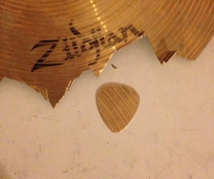 Guitar Picks From Cymbals