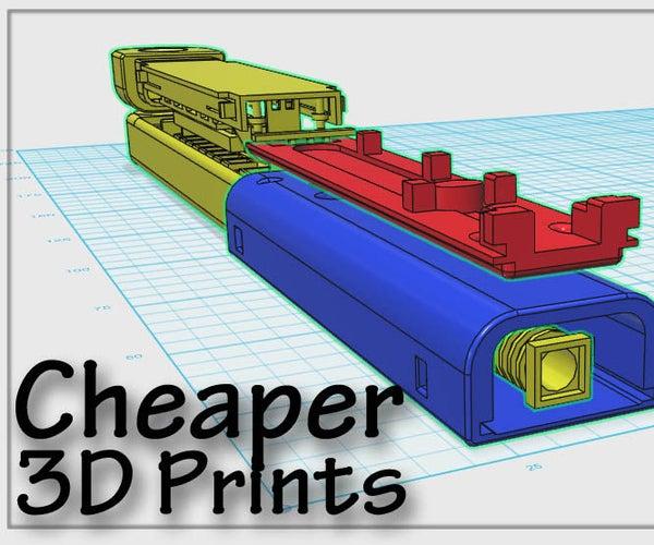 Cheaper 3D Prints