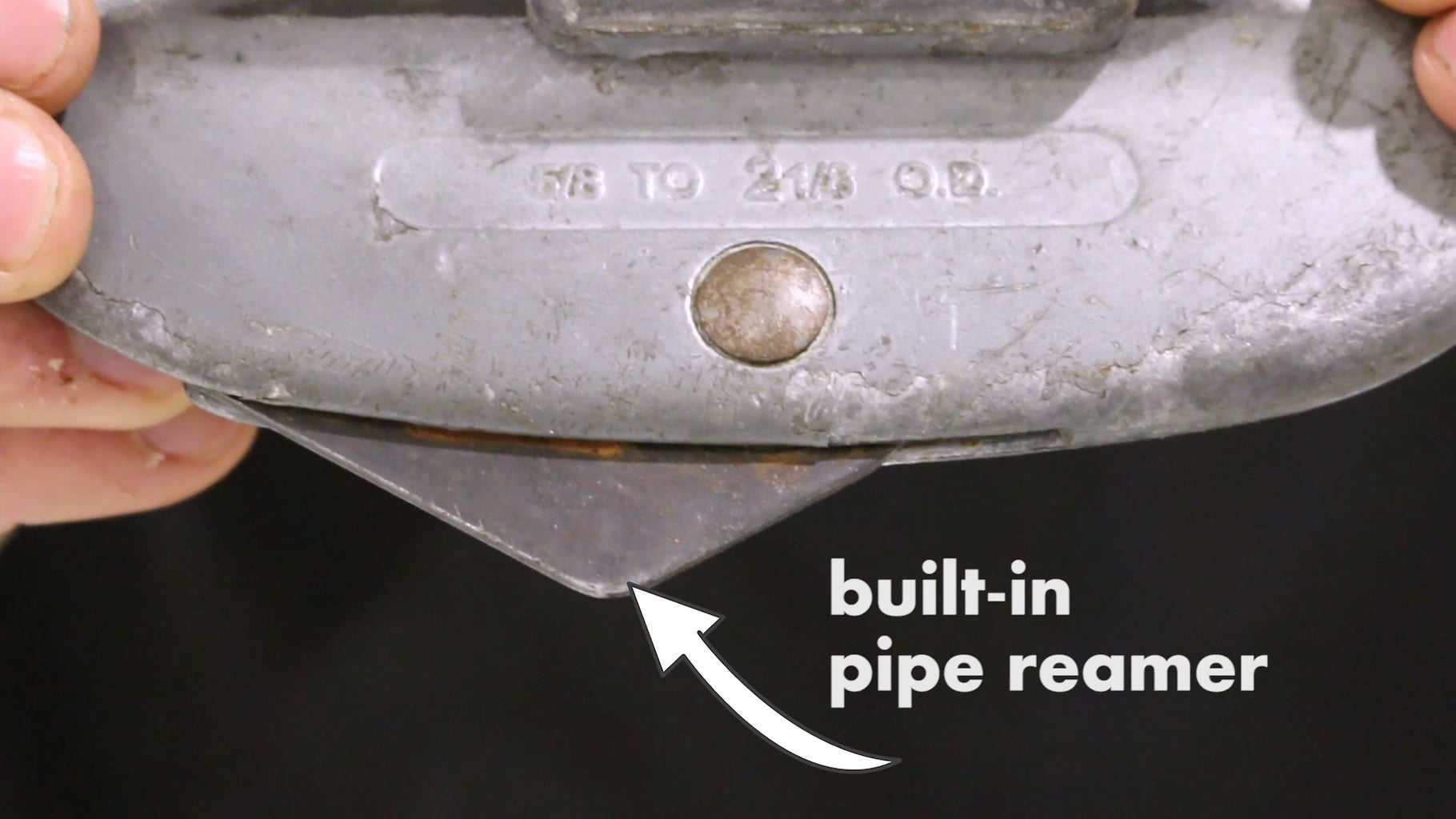 Not Deburring the Inside of Your Pipes