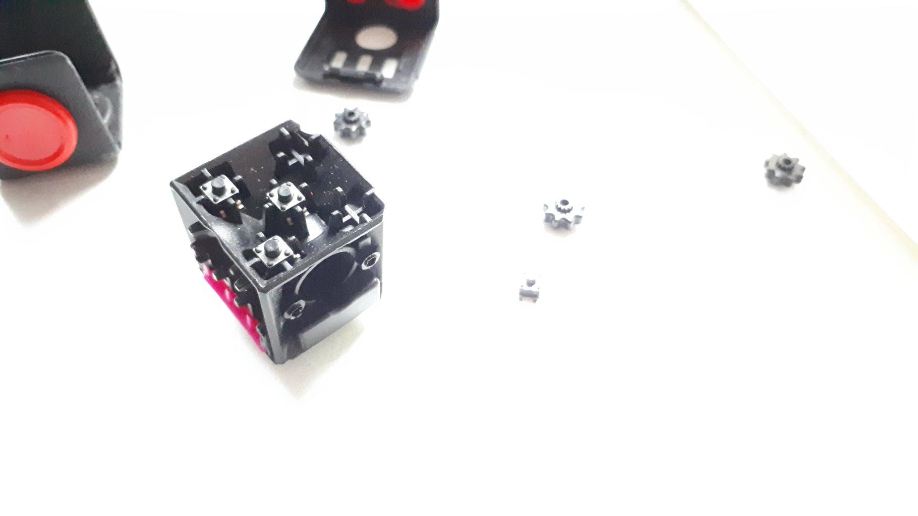 Opening the Fidget Cube