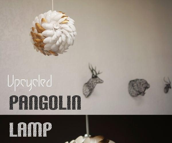 Upcycled Pangolin Lantern