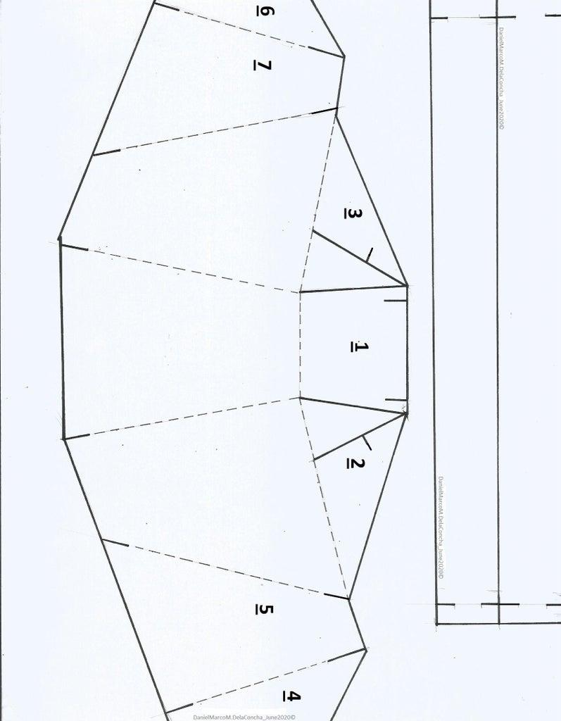 Cut and Fold Face Shield