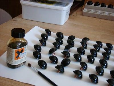 Applying Adhesive Liquid