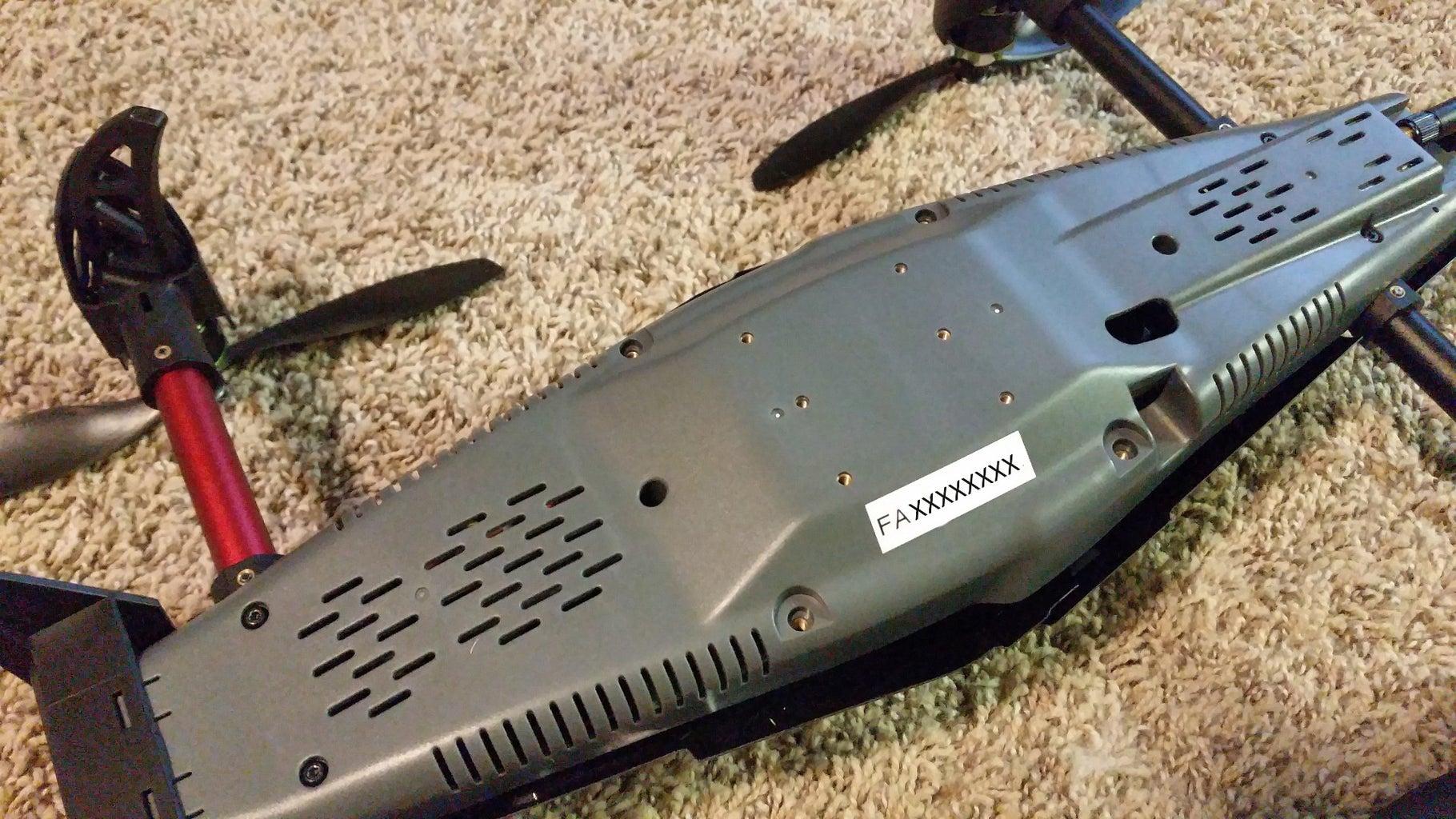 Register Your Quadcopter