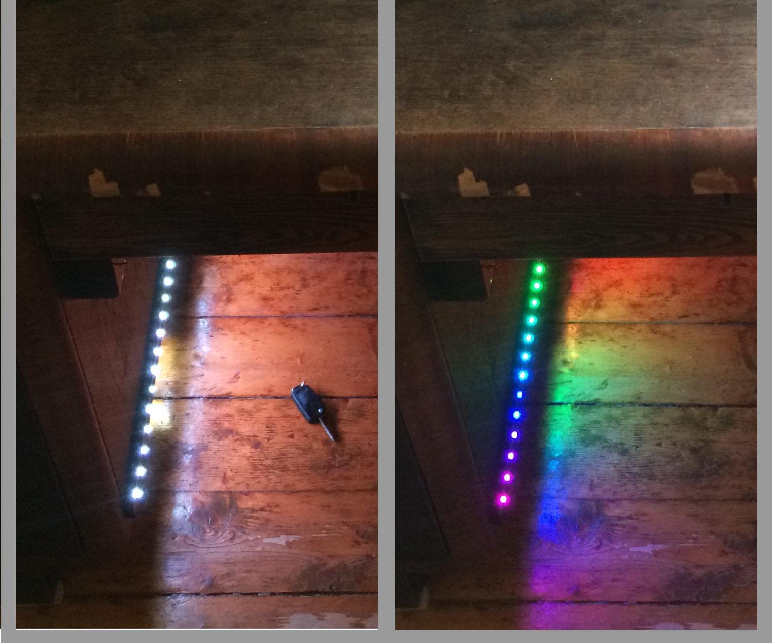 Lighting Under Desk