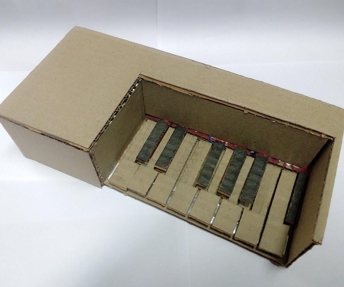 Cardboard Piano