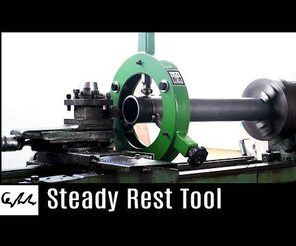 Making a Steady Rest for Metal Lathe