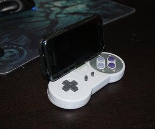 Bluetooth SNES Controller/gamepad